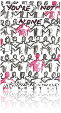 You're Not Alone by Nityasya Belapurkar