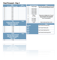 31-Day Cinch! Worksheet Template