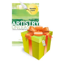 Book Giveaway - Artistry Unleashed by Hilary Austen