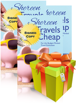 Book Giveaway - Shereen Travels Cheap by Shereen Rayle