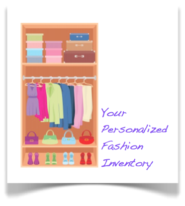Personalized Fashion Inventory (.xlxs)