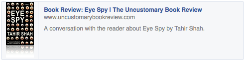 Read the Uncustomary Review here.